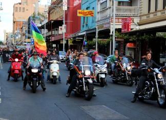 Gay Pride March Adelaide 9 November 2013