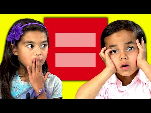 Kids' Amazing Reaction to Gay Issues