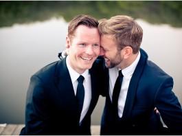 10 Awesomely Cute Gay Weddings