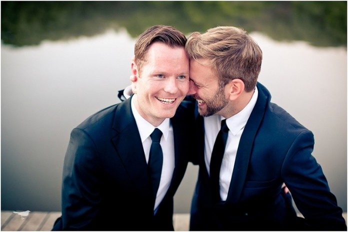 10 Awesomely Cute Gay Weddings
