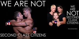 We are not second class citizens