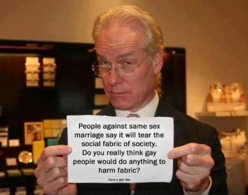 Tim Gunn - Fabric of society