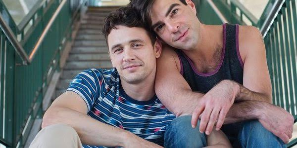 James Franco & Zachary Quinto in I Am Michael