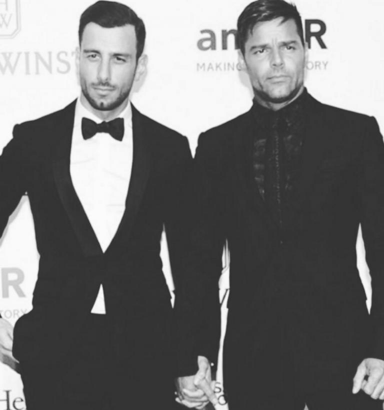Ricky Martin Shows off His Swedish Boyfriend
