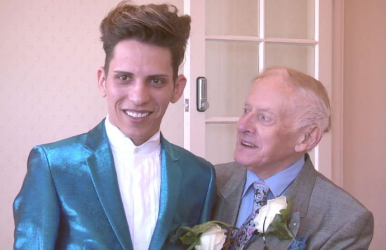 78-Year-Old Vicar Marries 24-Year-Old Male Model