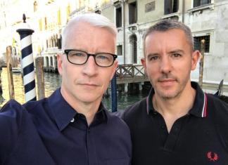 Gay life - Anderson Cooper & Benjamin Maisani