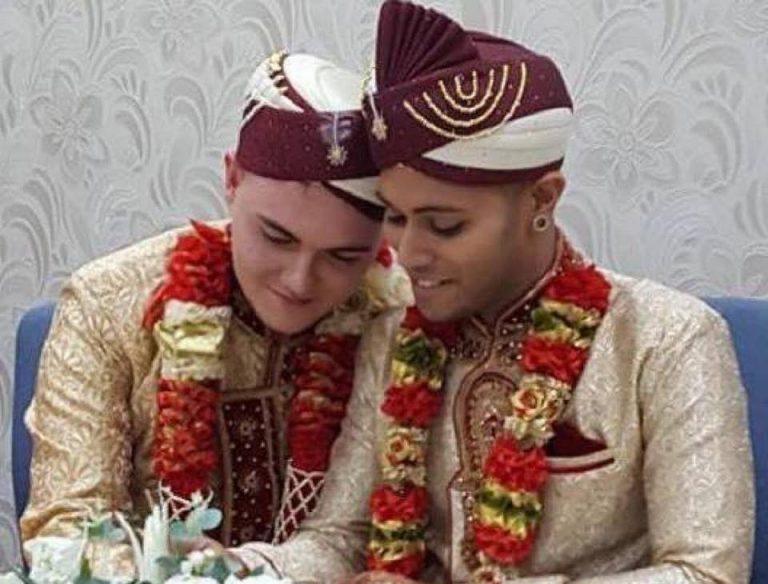 Two UK Guys Wed in Beautiful Gay Muslim Ceremony