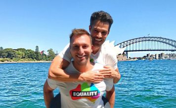 Ian Thorpe and Ryan Channing