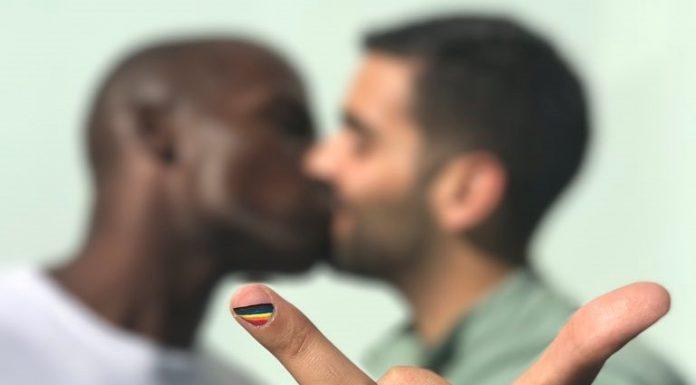 Gay pride flip