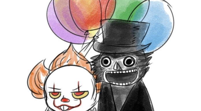 Gay Pennywise and Babadook