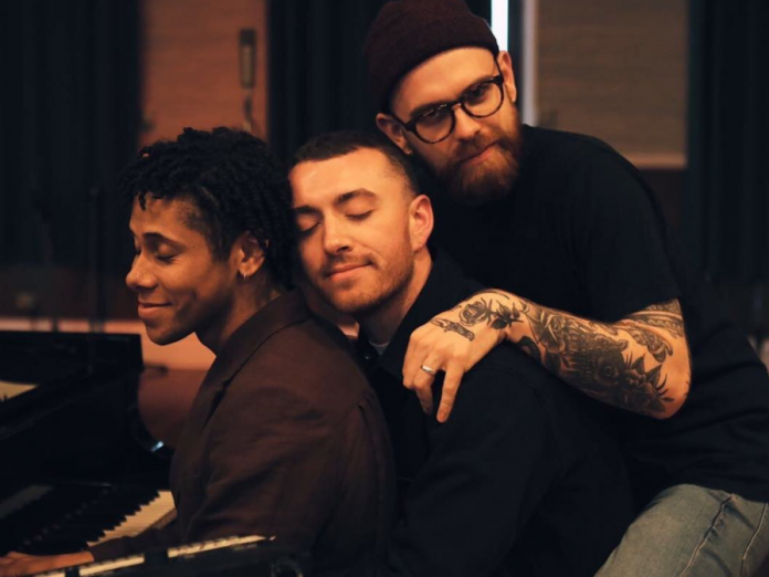 Sam Smith and his band