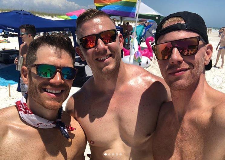 Daniel Newman's Hot Gay Memorial Day Weekend